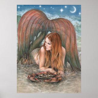 Starlit Tides Poster