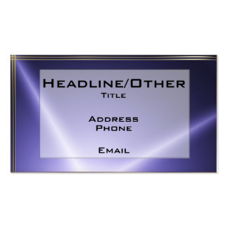 Starlite Double-Sided Standard Business Cards (Pack Of 100)