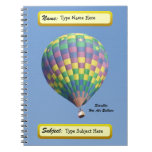 StarLite Hot Air Balloon Notebook