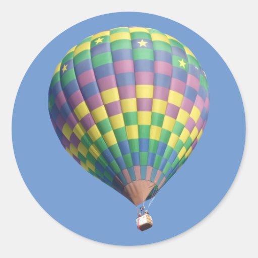 StarLite Hot Air Balloon Sticker