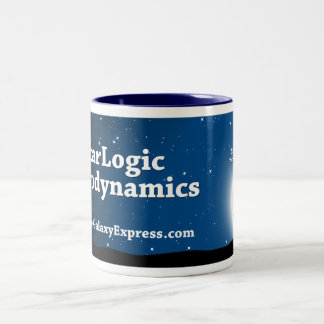 StarLogic Astrodynamics Two-Tone Coffee Mug