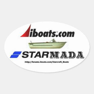 Starmada gear oval sticker