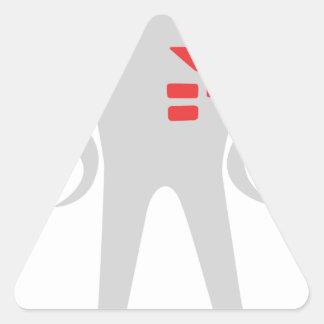 Starman Deluxe Triangle Sticker