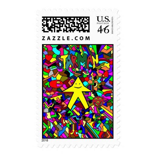 Starman PC Postage Stamps