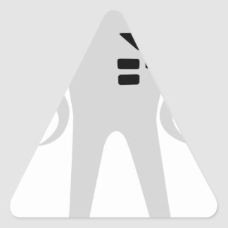 Starman Triangle Sticker