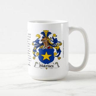 Starnes, el origen, el significado y el escudo taza
