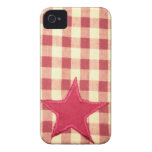 starplaid iphone4/4s Case-Mate iPhone 4 protectores