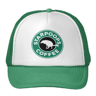 Starpoops Employee/Trucker Hat - brew#2