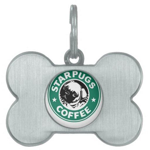 Starpugs Placa De Mascota