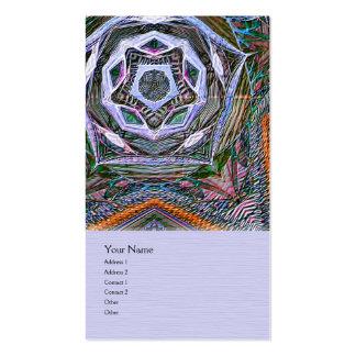 Starquake Mandala Business Card