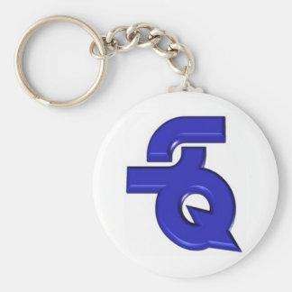 StarQuest 01 Basic Round Button Keychain