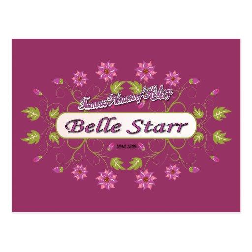 Starr ~ Belle Starr ~ Famous American Women Postcards