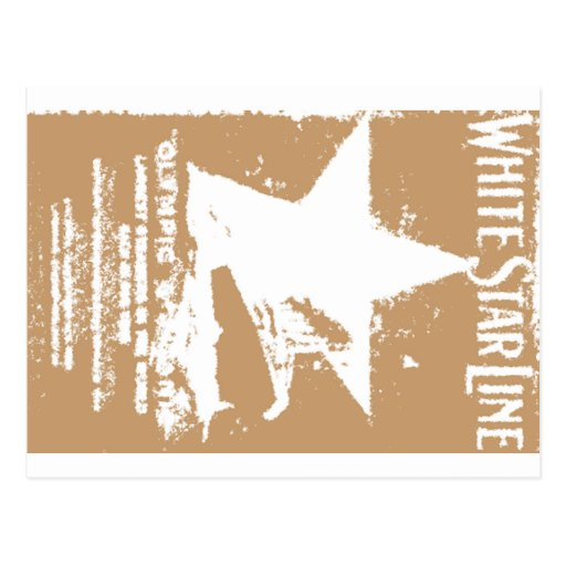 Starr blanco 2 tarjeta postal