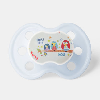 Starred owls pacifier