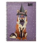 Starring Foxxy Witch Notebook