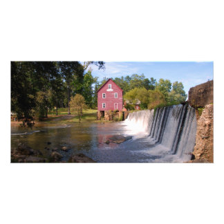 Starr's Mill at Georgia, USA  photo card