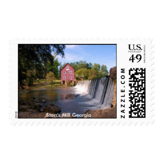 Starr's Mill Postage Stamps