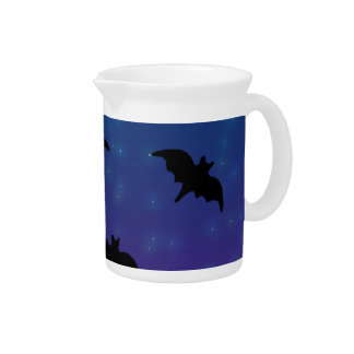 Starry Bat Beverage Pitcher