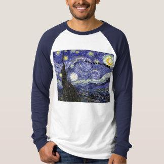 Starry Christmas Night T-Shirt