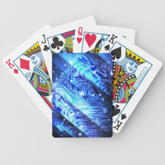 Starry Cute Baby Tiger .jpg Bicycle Playing Cards
