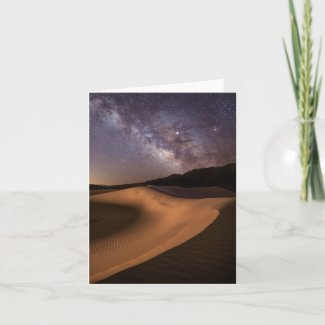 Starry Dunes Card