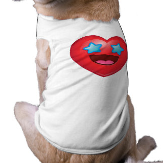 Starry Eyes Heart Emoji T-Shirt