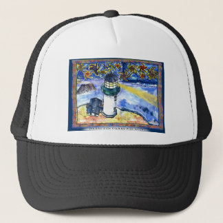 Starry-Fish Starry-Fish Night Trucker Hat