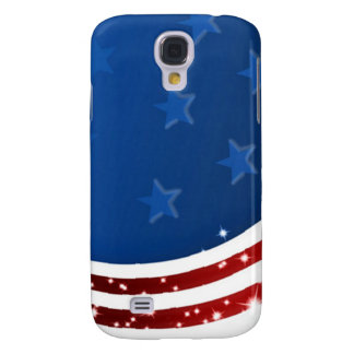 Starry Flag Memorial Day Galaxy S4 Case