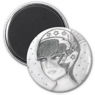 Starry Flapper Magnet