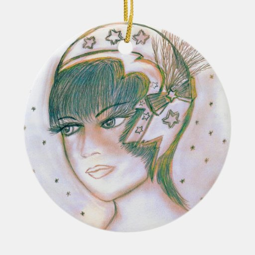 Starry Flapper Twisted Ornaments
