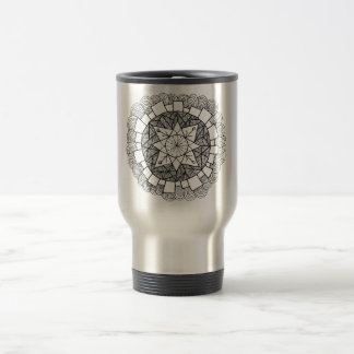Starry Flower Travel Mug