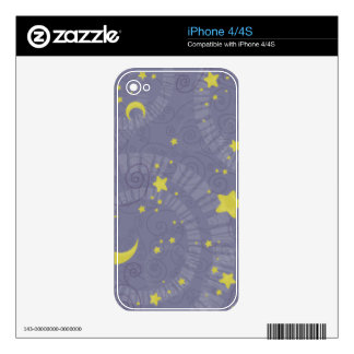 Starry Fortune Decals For The iPhone 4