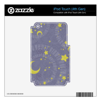 Starry Fortune Skins For iPod Touch 4G