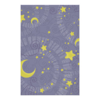Starry Fortune Stationery