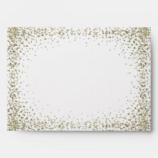 Starry Glitter Confetti Envelope