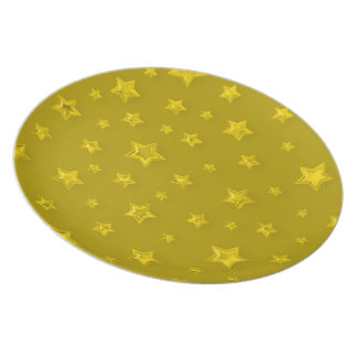 Starry Gold Plate