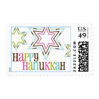 starry hanukkah stamp