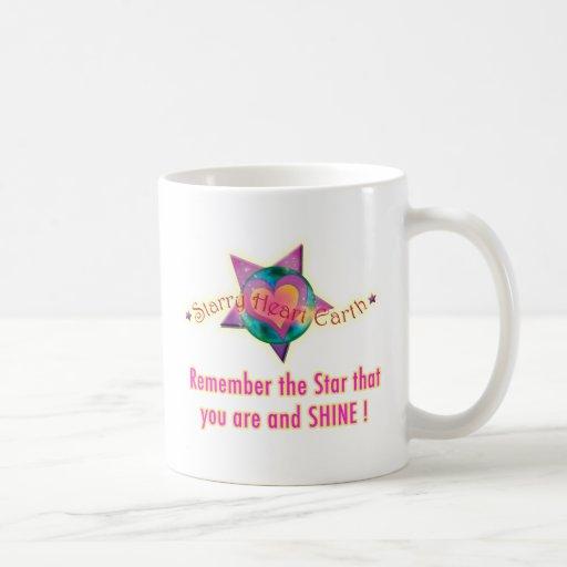 Starry Heart Earth Merchandise Coffee Mug