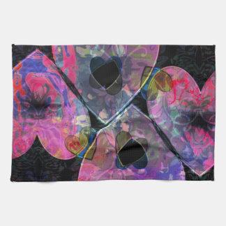 Starry Hearts Towel