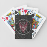 """Starry """"Hello, Sweetie!"""" Playing Cards"""