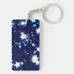 Starry Holiday Keychain