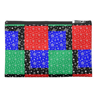 Starry Holiday Night Travel Accessory Bag