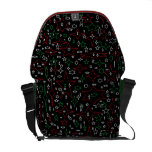 Starry Holiday Night Courier Bag