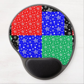 Starry Holiday Night Gel Mouse Pad