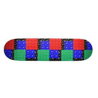 Starry Holiday Night Skate Deck