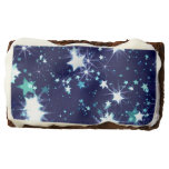 Starry Holiday Rectangular Brownie