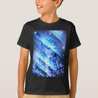 starry indian maiden.jpg T-Shirt