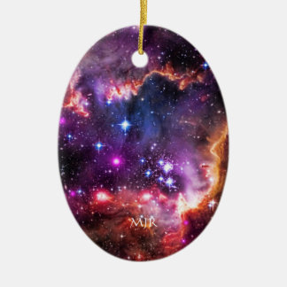 Starry Jewelled Wingtip of SMC - space beauty Ceramic Ornament