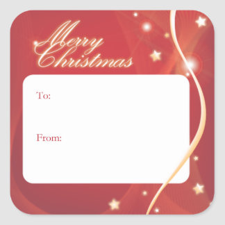 Starry Light Gift Tag