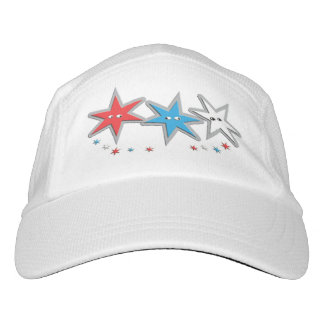 Starry Looks - A Patriotic Trio Hat